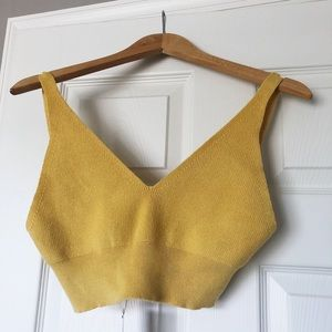 Oak and Fort crop tank top (brand new)